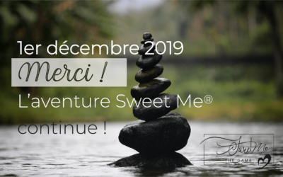 1er décembre ! L'aventure Sweet Me® the Game continue … Merci !