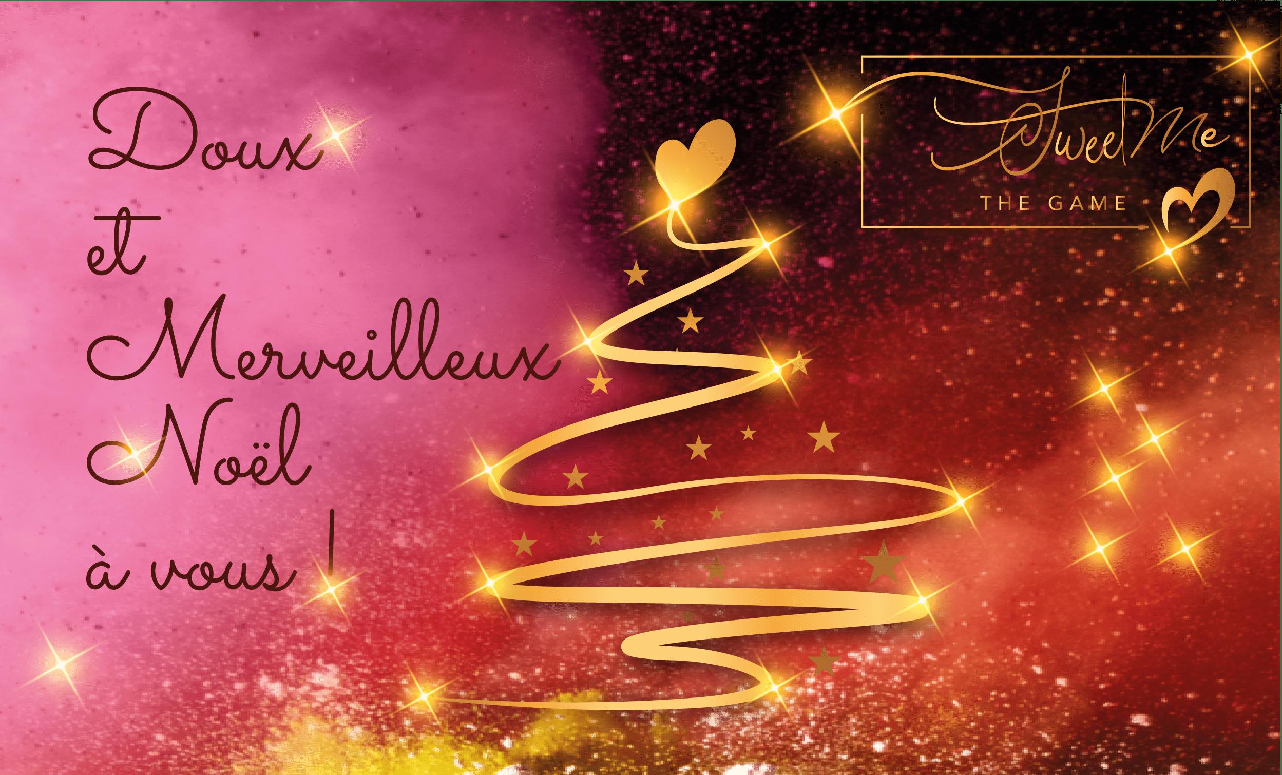 Nous vous souhaitons un doux et merveilleux Noël